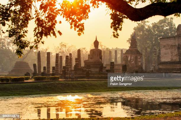 sukhothai historical park - ayuthaya province stock pictures, royalty-free photos & images