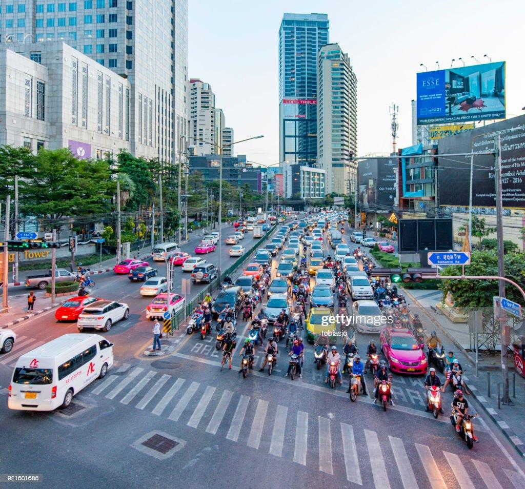 Sukhumvit Bangkok, Thailand : Stock Photo