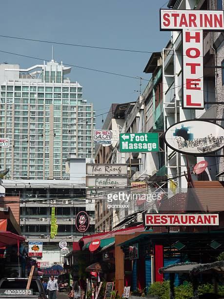Sukhumvit Soi 11/1 (Straße 7/1) in die Nana, Bangkok
