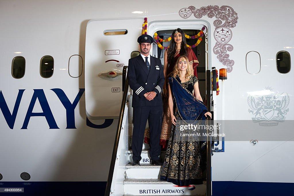 British Airways launch first Boeing 787-9 flights to New Delhi : News Photo