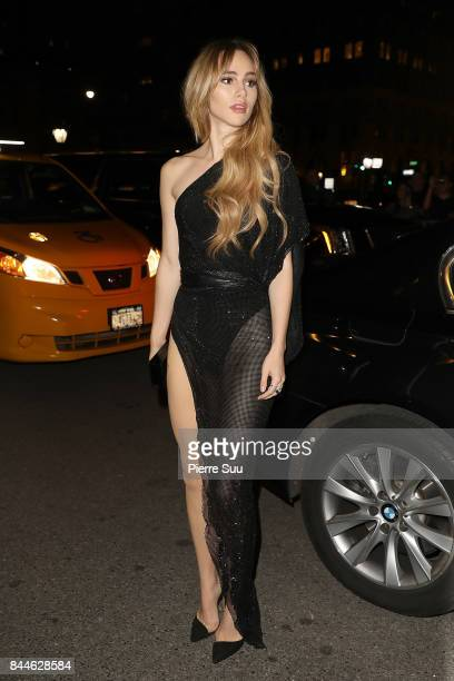 Suki Waterhouse arrives at Harper's BAZAAR Celebration of 'ICONS By Carine Roitfeld' at The Plaza Hotel presented by Infor Laura Mercier Stella...