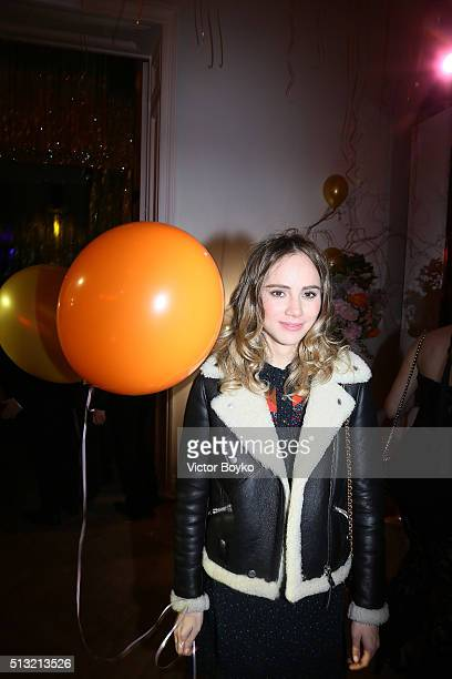 Suki Waterhouse attends Prom 2016 Party hosted by Coach for the Paris Flagship opening as part of the Paris Fashion Week Womenswear Fall/Winter...