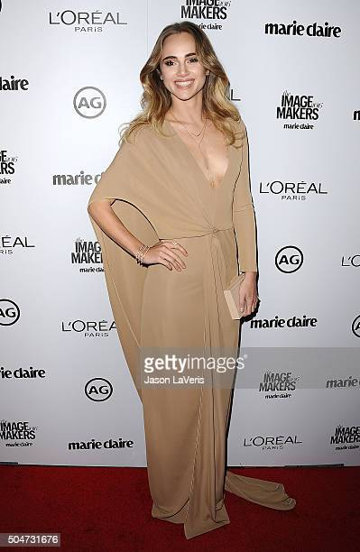 Suki Waterhouse attends the 2016 Marie Claire Image Maker Awards at Chateau Marmont on January 12 2016 in Los Angeles California