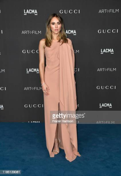 Suki Waterhouse attends the 2019 LACMA 2019 Art Film Gala Presented By Gucci at LACMA on November 02 2019 in Los Angeles California