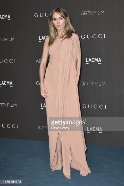 Suki Waterhouse attends the 2019 LACMA Art Film Gala at LACMA on November 02 2019 in Los Angeles California