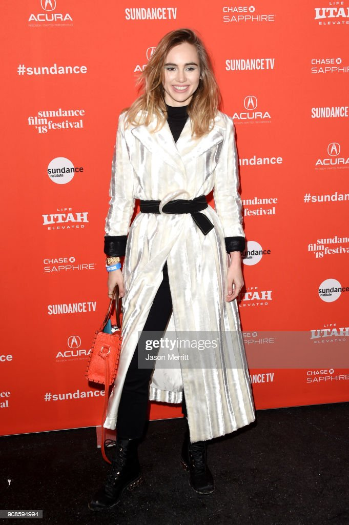 Suki Waterhouse attends the 'Assassination Nation' Premiere during the 2018 Sundance Film Festival at Park City Library on January 21, 2018 in Park City, Utah.