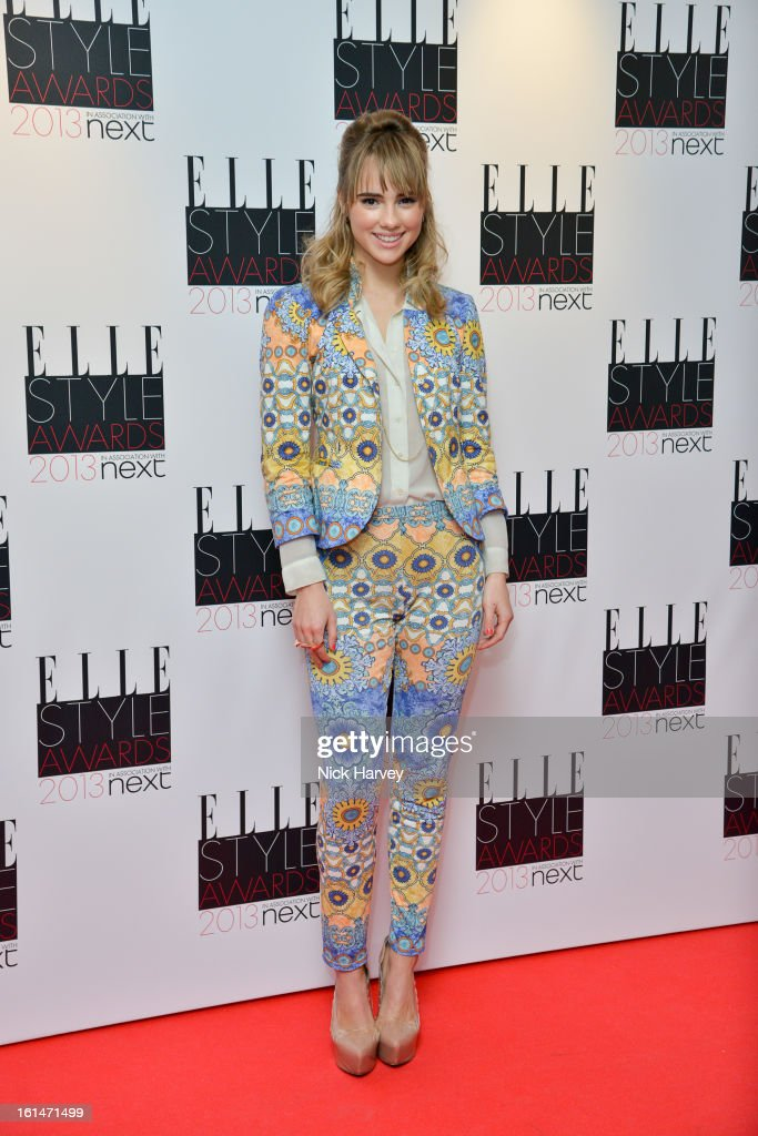 Suki Waterhouse attends the Elle Style Awards 2013 on February 11, 2013 in London, England.