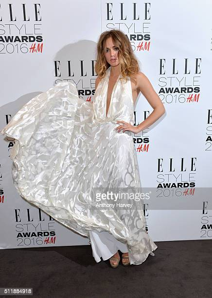 Suki Waterhouse attends The Elle Style Awards 2016 on February 23 2016 in London England