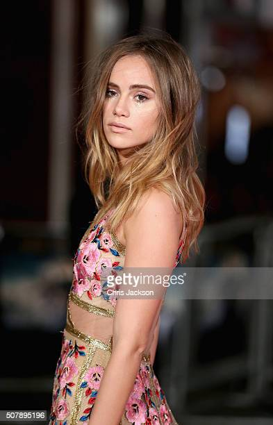 Suki Waterhouse attends the European premiere of 'Pride And Prejudice And Zombies' at Vue West End on February 1 2016 in London England