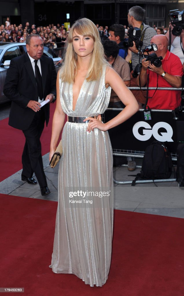 Suki Waterhouse attends the GQ Men of the Year awards at The Royal Opera House on September 3, 2013 in London, England.