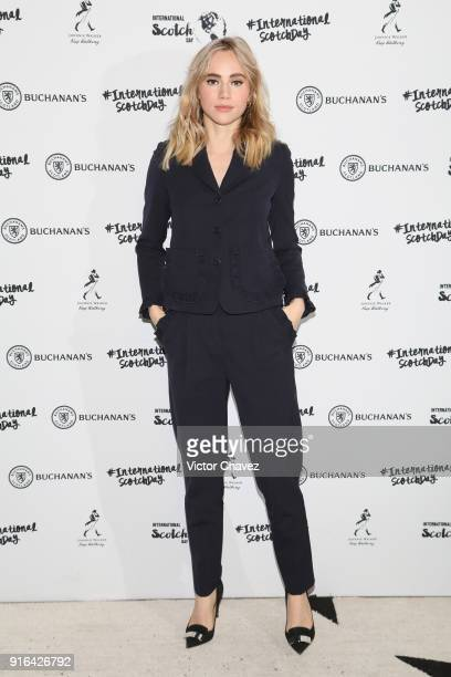 Suki Waterhouse attends the international scotch day at Hotel Antiguo Reforma on February 9 2018 in Mexico City Mexico