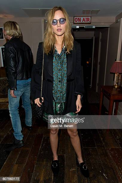 Suki Waterhouse attends the launch of i-D's 'The Female Gaze' issue hosted by Holly Schkleton and Adwoa Aboah during London Fashion Week Spring...