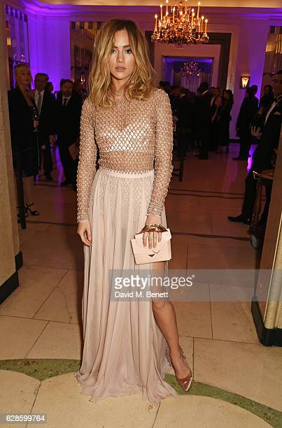 Suki Waterhouse attends The London Evening Standard British Film Awards at Claridge's Hotel on December 8 2016 in London England