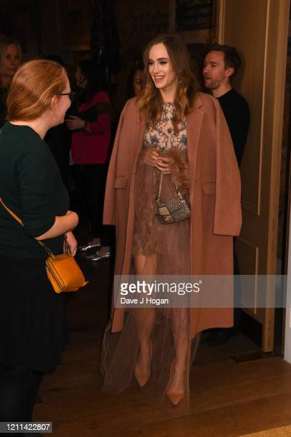 Suki Waterhouse attends the Misbehaviour World Premiere at The Ham Yard Hotel on March 09 2020 in London England