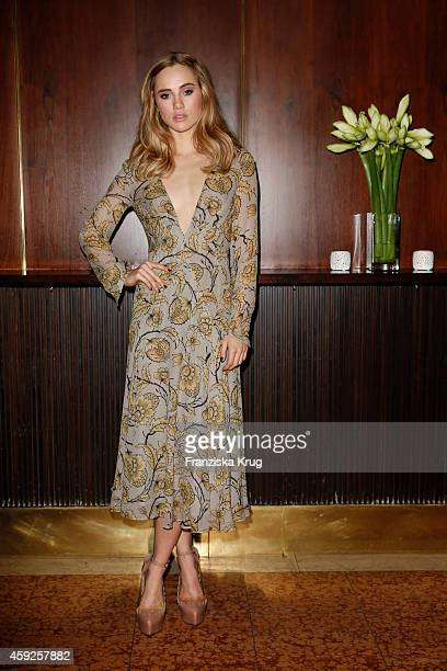 Suki Waterhouse attends the mytheresacom X Burberry Dinner on November 19 2014 in Munich Germany