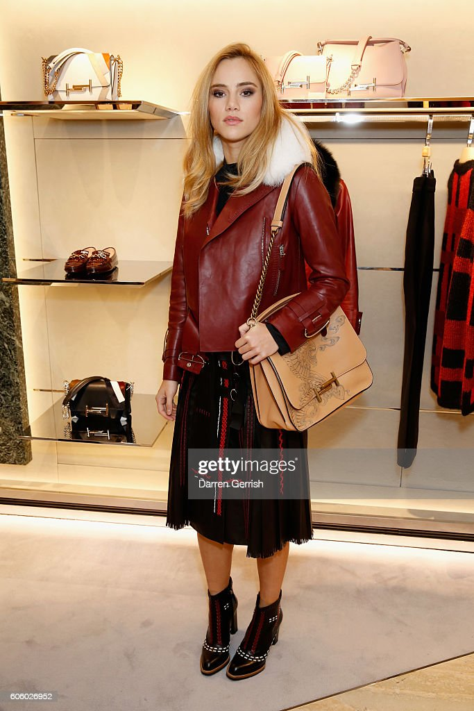 TOD's Celebrates The Re-Opening Of It's London Flagship Boutique : News Photo