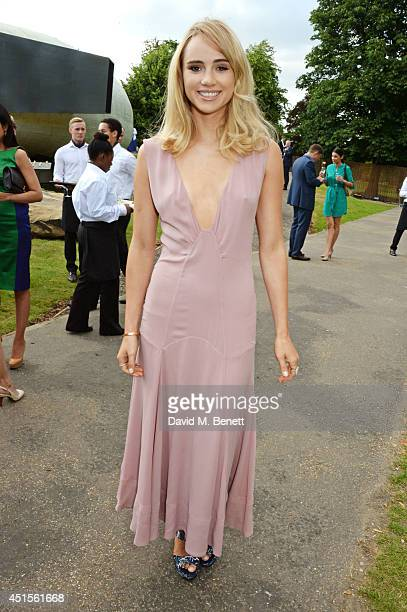 Suki Waterhouse attends The Serpentine Gallery Summer Party co-hosted by Brioni at The Serpentine Gallery on July 1, 2014 in London, England.