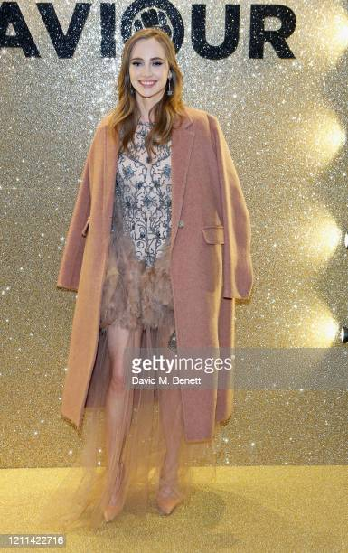 Suki Waterhouse attends the World Premiere of Misbehaviour at The Ham Yard Hotel on March 09 2020 in London England
