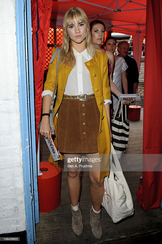Suki Waterhouse attends Tunnel of Love in aid of The British Heart Foundation at Proud Camden on May 29, 2012 in London, England.