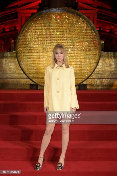 Suki Waterhouse during The Fashion Awards 2018 In Partnership With Swarovski at Royal Albert Hall on December 10 2018 in London England