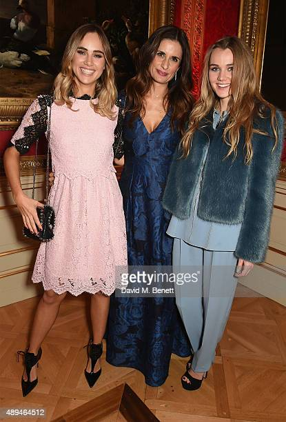 Suki Waterhouse Livia Firth and Immy Waterhouse attend the London 2015 Green Carpet Collection By Erdem in partnership with MercedesBenz at the...
