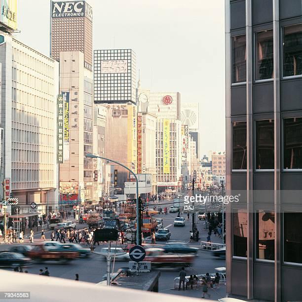 sukiyabashi in showa - showa period stock pictures, royalty-free photos & images