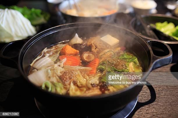 Sukiyaki (Japanese food)