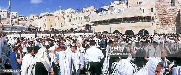 sukkot jewish festival in jerusalem - jewish prayer shawl stock pictures, royalty-free photos & images