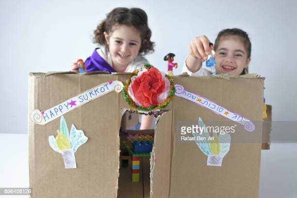 sukkot jewish holiday feast of tabernacles - rafael ben ari bildbanksfoton och bilder