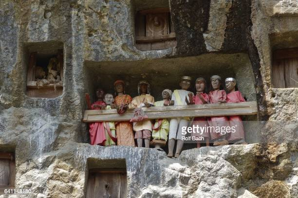 Sulawesi, Toraja, A stone-carved burial site.