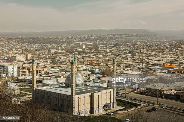 sulayman mosque in osh, kyrgyzstan - osh stock pictures, royalty-free photos & images