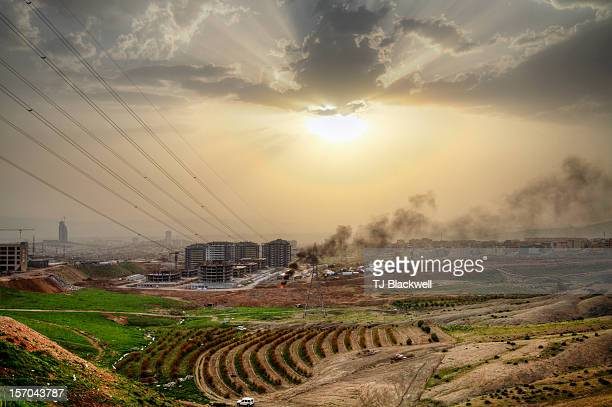 Sulaymaniyah city limits, Iraq