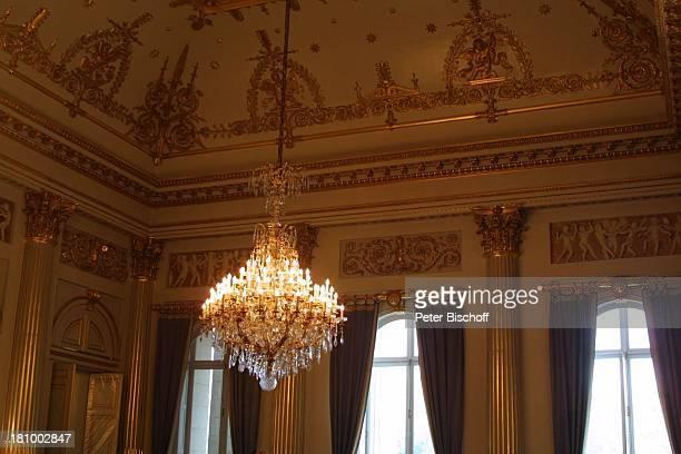 Säule Königspalast Brüssel/Belgien Europa Königshaus Palast Kronleuchter Reise