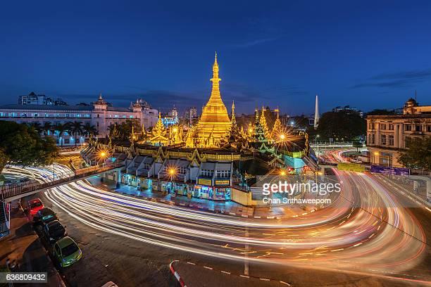 Sule Pagoda , Yangon , Myanmar