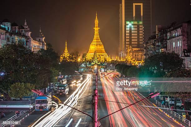 Sule paya pagoda of Yangon, Myanmar.