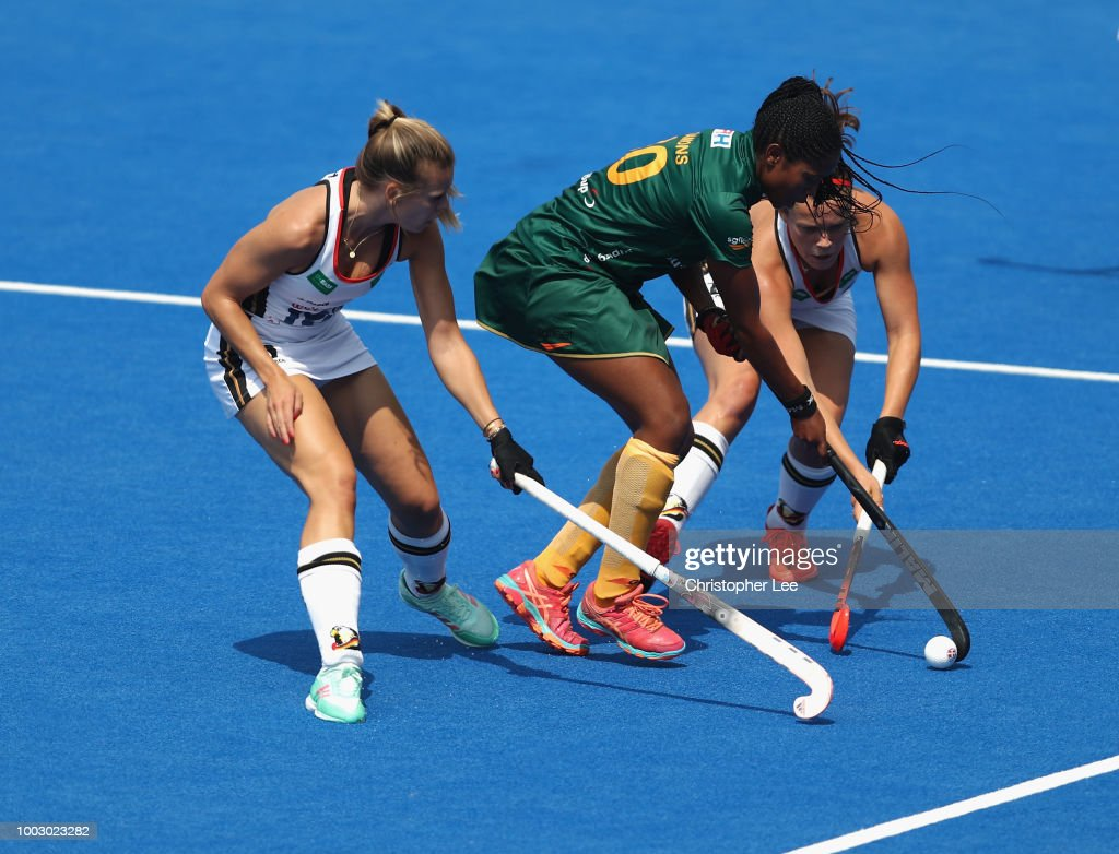 Germany v South Africa - FIH Womens Hockey World Cup