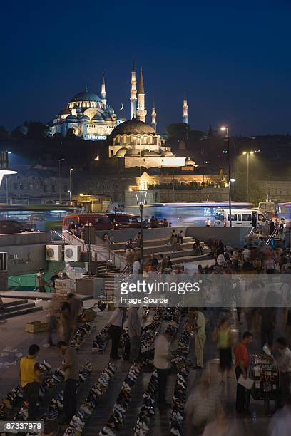 Suleymaniye mosque and market