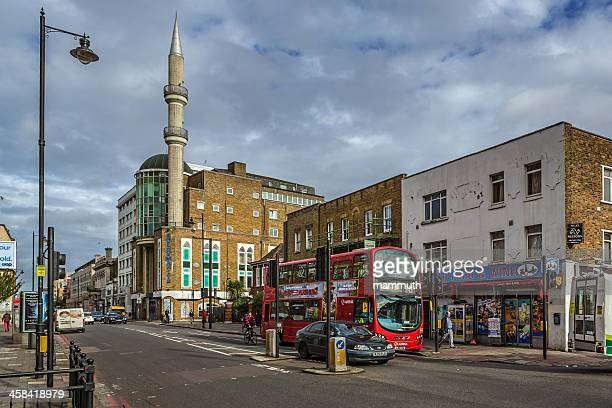 suleymaniye mosque in london - mosque stock photos and pictures