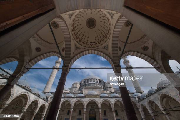 suleymaniye mosque - istanbul province stock photos and pictures