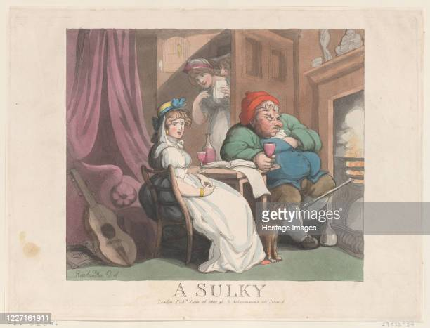 A Sulky June 26 1800 Artist Thomas Rowlandson