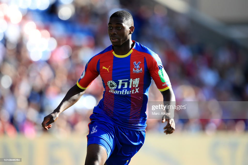 Sullay Kaikai of Crystal Palace during the Pre-Season Friendly between Crystal Palace and Toulouse at Selhurst Park on August 4, 2018 in London, England.