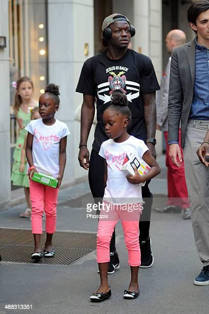 Sulley Ali Muntari is seen on May 5 2014 in Milan Italy