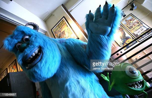 Sulley and Mike Wazowski from the Disneyland Resort's Monster's Inc Mike Sulley to the Rescue