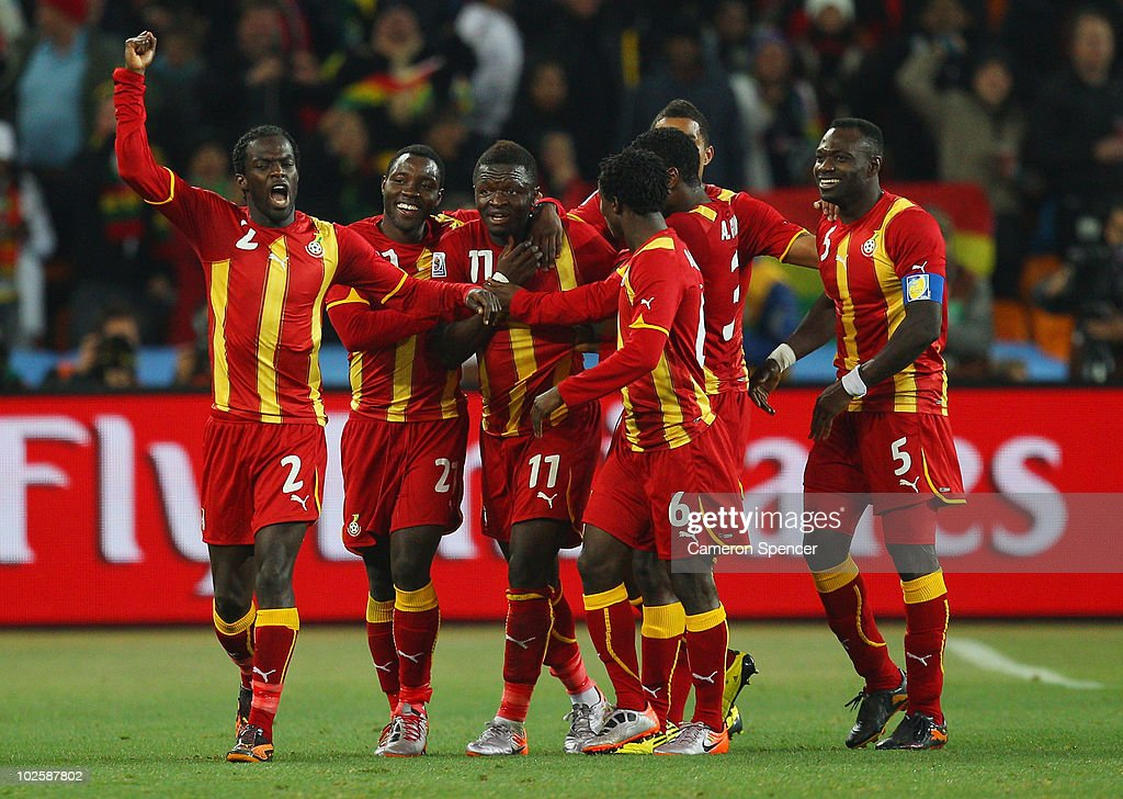 Uruguay v Ghana: 2010 FIFA World Cup - Quarter Finals : News Photo