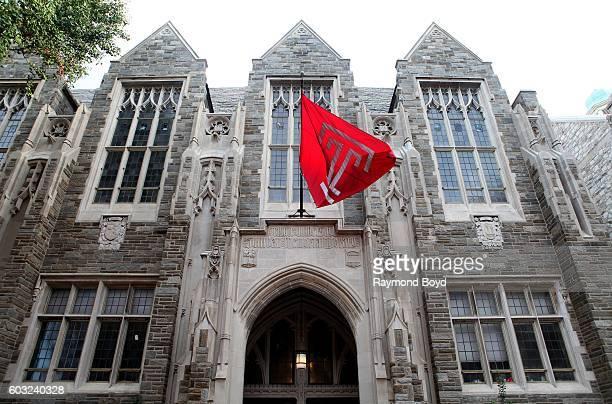 Sullivan Memorial Library at Temple University in Philadelphia, Pennsylvania on August 27, 2016.
