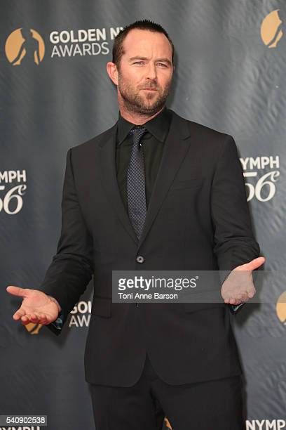 Sullivan Stapleton arrives at the 56th Monte Carlo TV Festival Closing Ceremony and Golden Nymph Awards at The Grimaldi Forum on June 16 2016 in...
