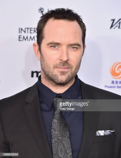 Sullivan Stapleton attends the 46th Annual International Emmy Awards Arrivals at New York Hilton on November 19 2018 in New York City