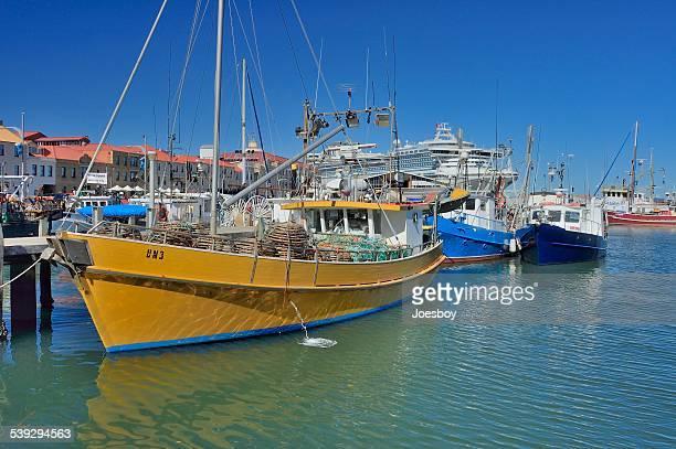 sullivan's cove harbor in hobart - hobart tasmania stock photos and pictures