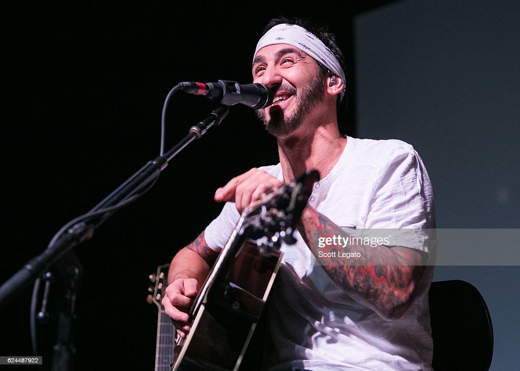 Sully Erna of Godsmack performs an acoustic set at The Majestic Theatre on November 19, 2016 in Detroit, Michigan.