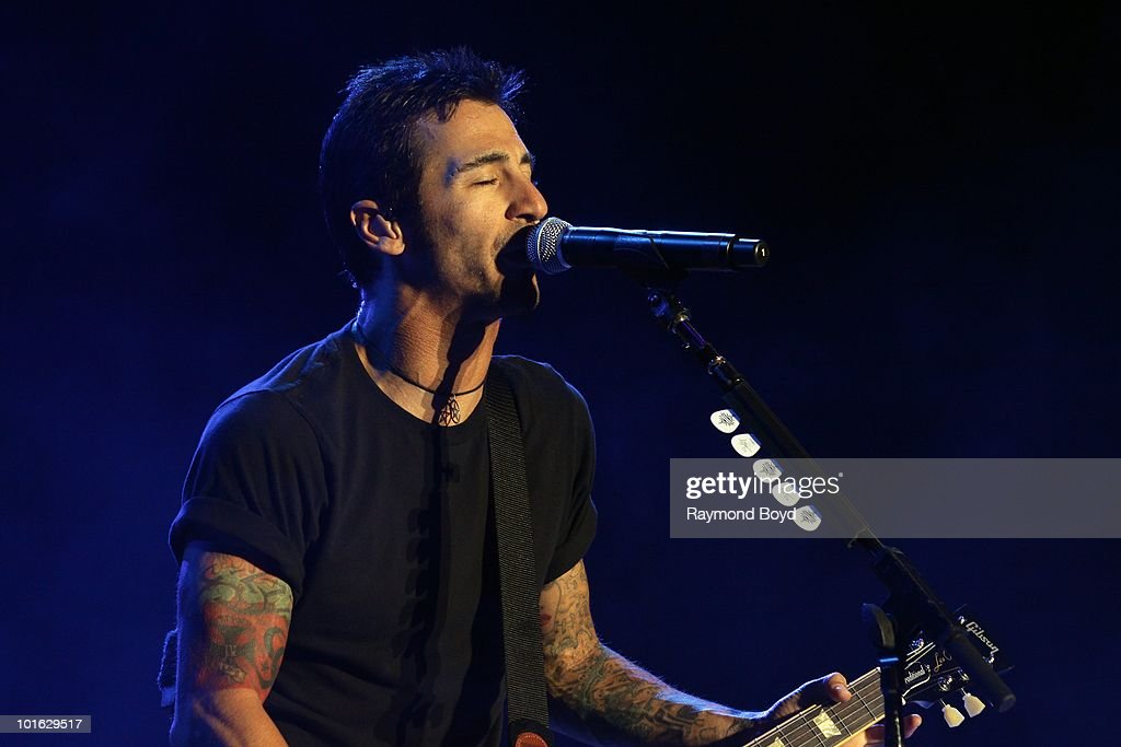Sully Erna of Godsmack performs at Columbus Cew Stadium in Columbus, Ohio on MAY
